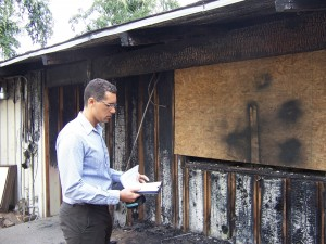 Residential Fire Damage
